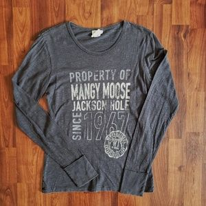3/$25 Mangy Moose long sleeve tee